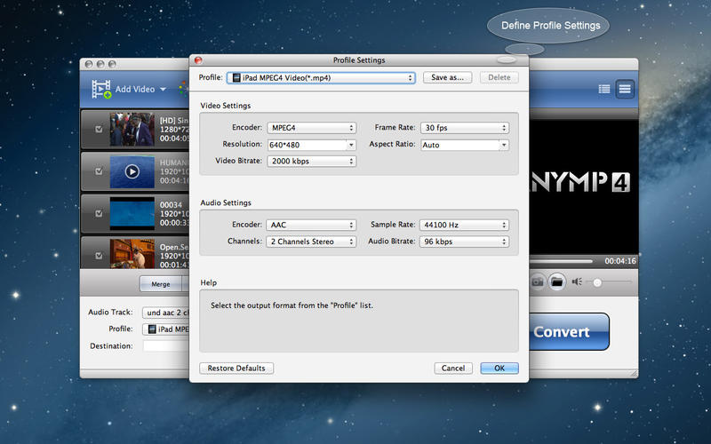 AnyMP4 MTS Converter Screenshot - 4