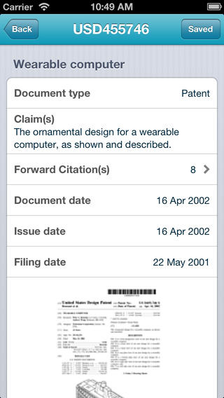DiscoverIP Patent Search