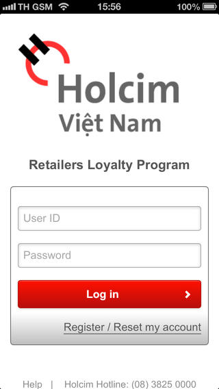 Holcim Vietnam - Retailers Loyalty Program