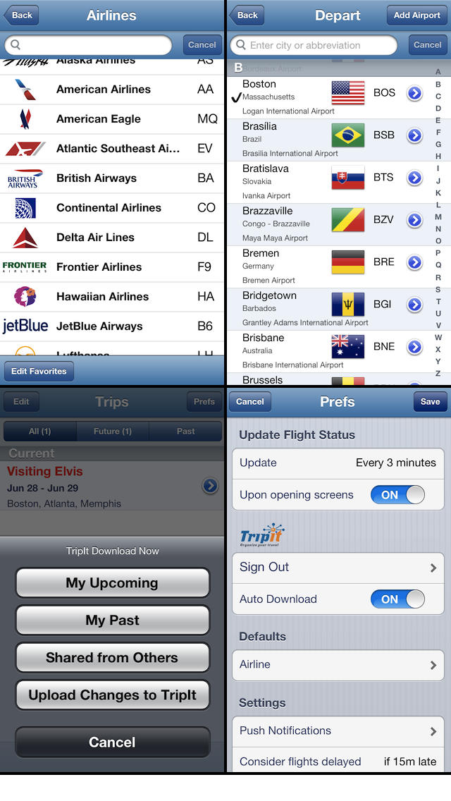 Flight Update Pro - Live Flight Status, Alerts + Trip Sync Screenshot 5