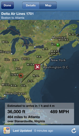 Flight Update Pro - Live Flight Status, Alerts + Trip Sync Screenshot 2