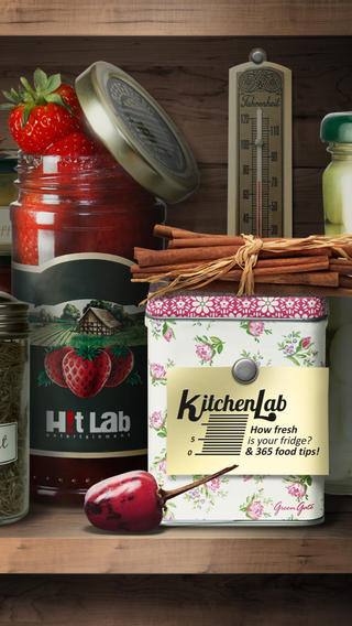 KitchenLab: How fresh is your fridge 365 food tips Phone edition