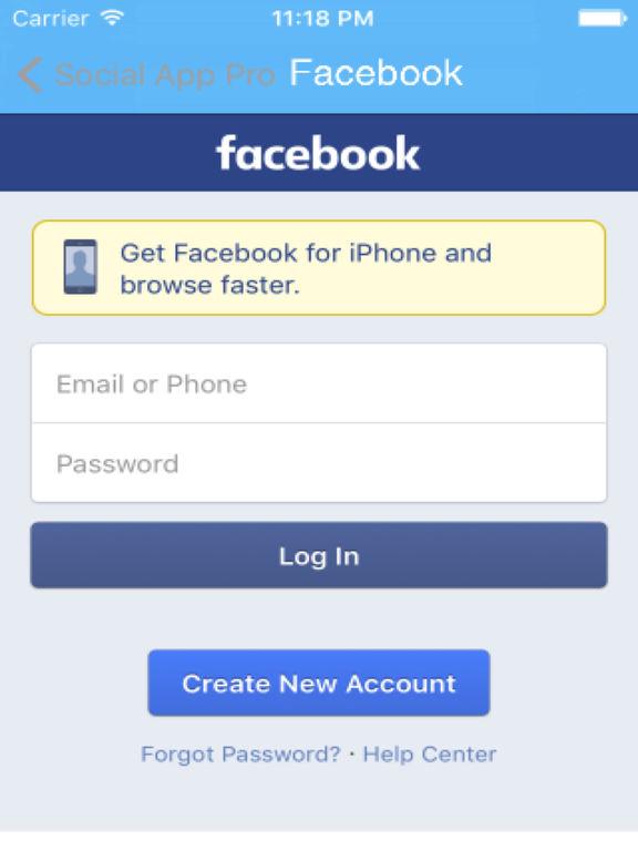 Social App Pro Screenshots