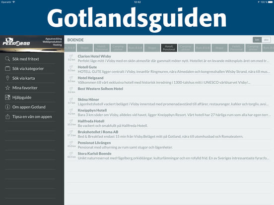 Gotland iPad Screenshot 2