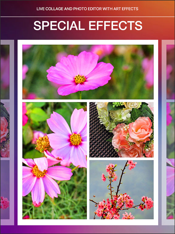 Instant Pic Collage Maker - Tons of wonderful sticker Screenshots