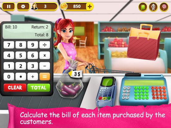 Скачать игру Supermarket Cash Register - Kids Fun Shopping Game