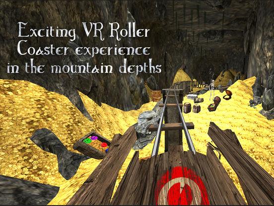 VR Roller Coaster - CaveDepthsscreeshot 2