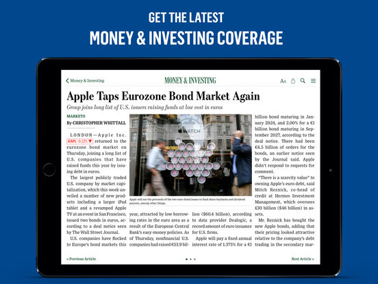 The Wall Street Journal. screenshot
