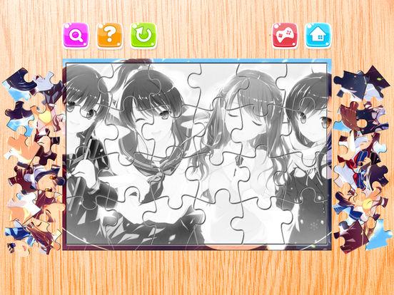 Мультфильм Головоломка для Аниме а также Манга Скриншоты10