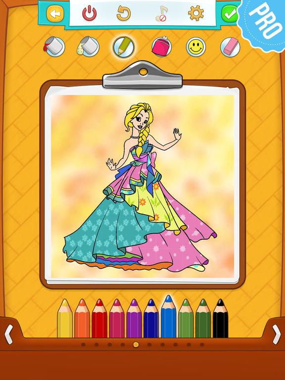 Игры раскраски принцесс