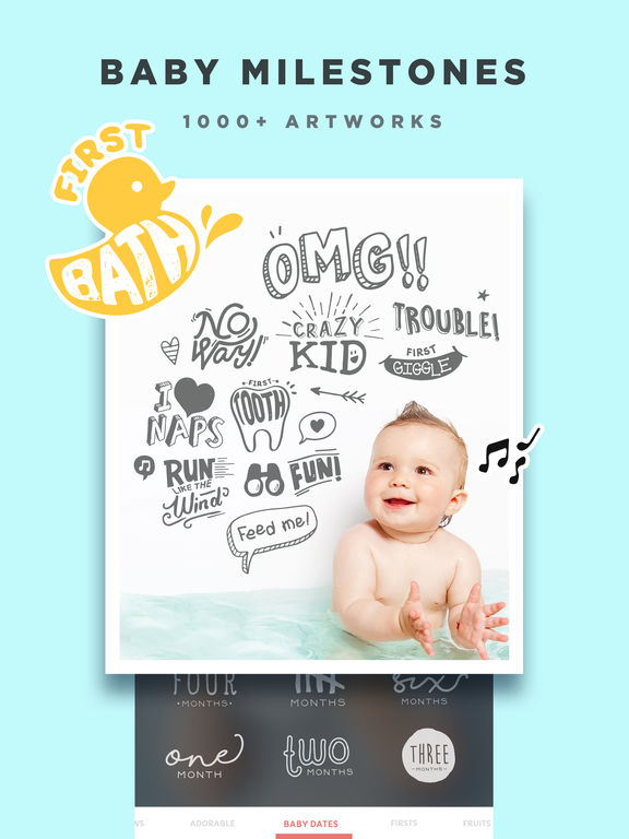 Baby Story - Pregnancy Pics Baby Milestones Photo Screenshots