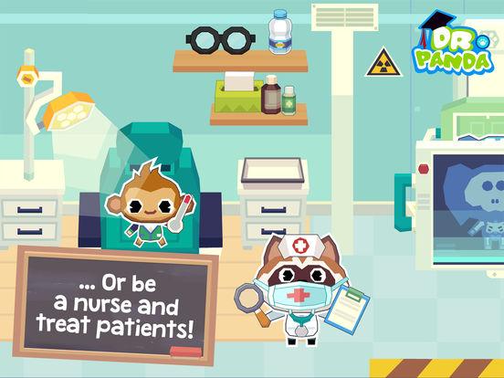 Dr. Panda School Screenshots