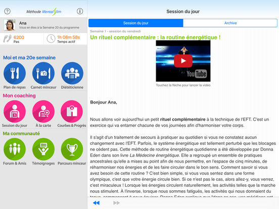 MentalSlim avec Jean-Michel Gurret (gratuite) iPad Screenshot 1