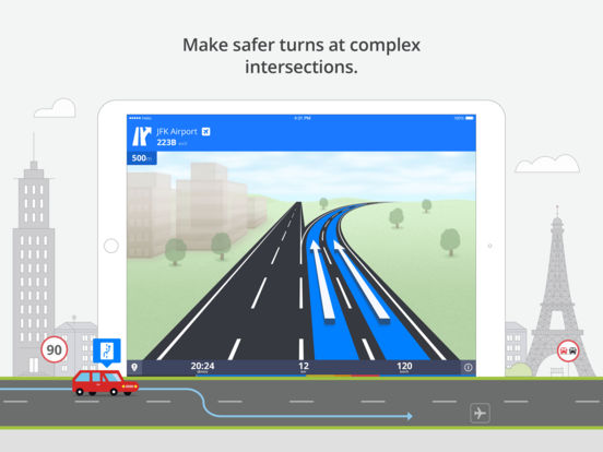 Sygic: GPS Navigation, Offline Maps & POI, Traffic & Speed Cameras screenshot