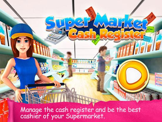 Supermarket Cash Register - Kids Fun Shopping Game на iPad