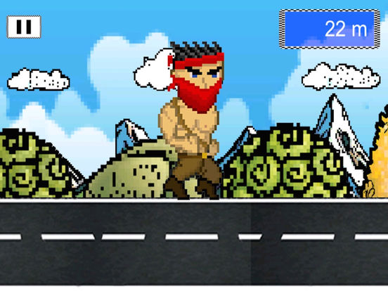 Man Amok Run-ipad-3