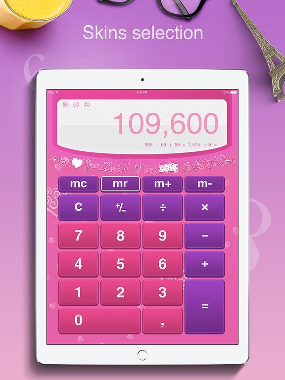 Calculator Pro for iPad Free - Standard and Scientific Calculator screenshot
