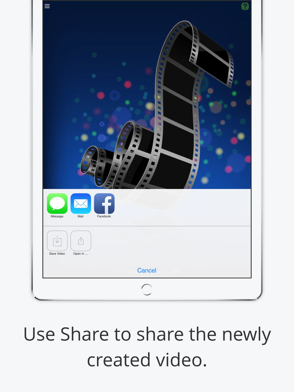 iSnapVideo - Tap-and-hold short video recording with Auto Merge Screenshots