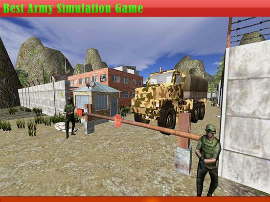 Drive Army Truck CheckPost Pro Screenshots