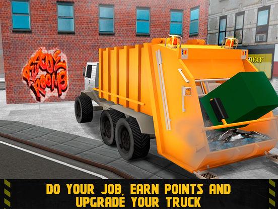 City Garbage Truck Driving Simulator 3D Full Screenshots