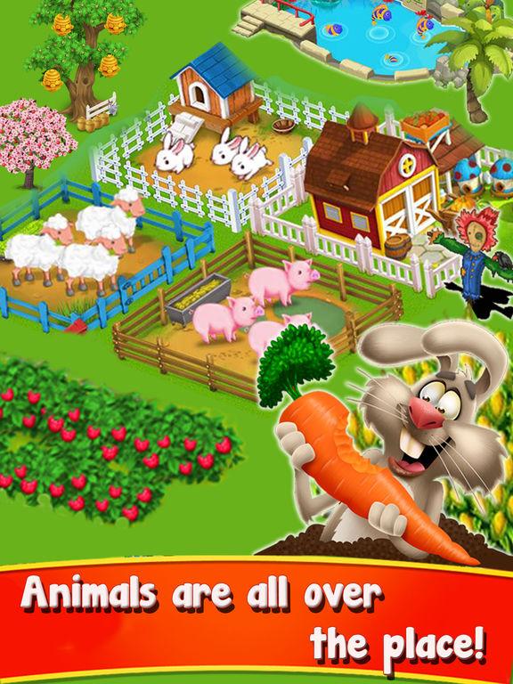 Скачать игру Farming Sim - Amazing The Farm Frenzy 3