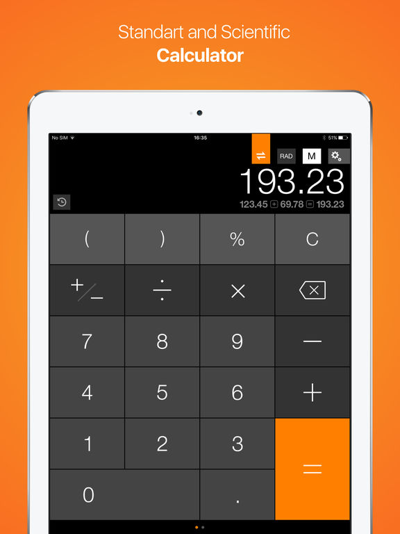 Calculator Free, Currency and Unit Converter - CalConvert screenshot