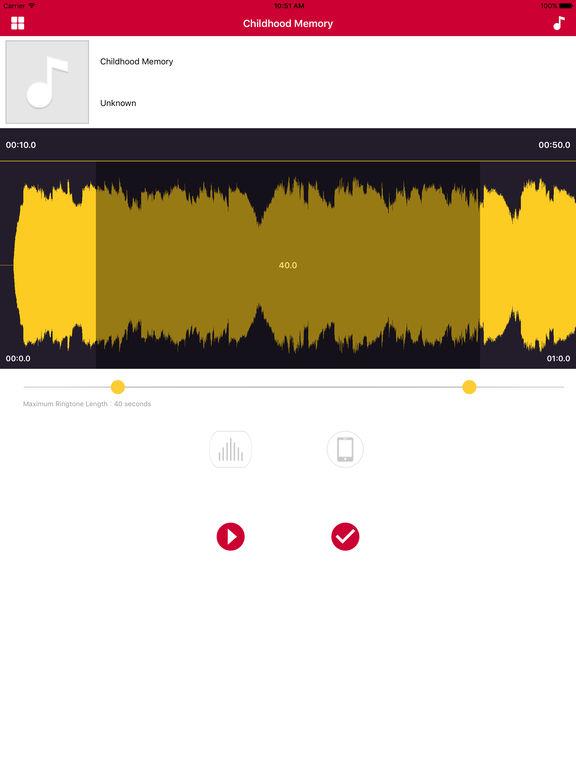 Cool Ringtone Maker Pro, design from music & video Screenshots