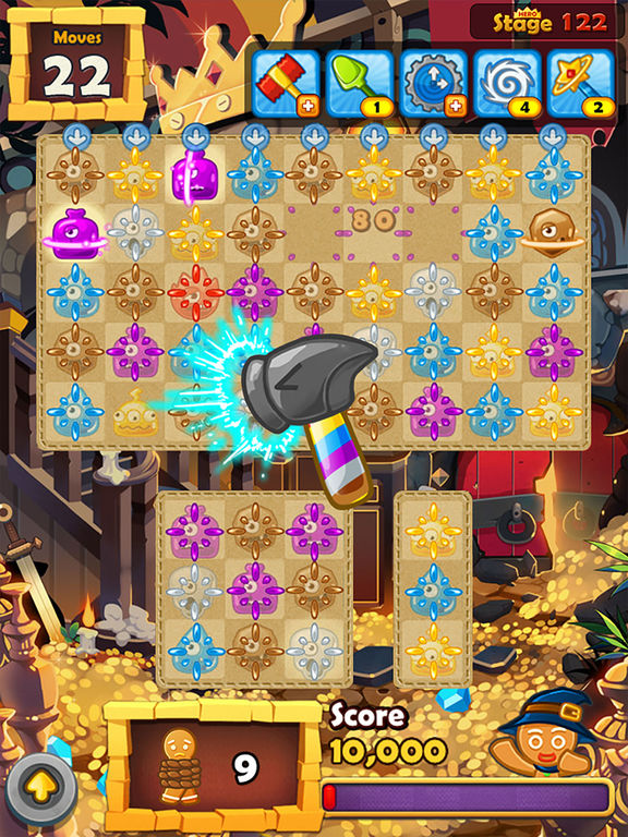 Monster Busters: Match 3 Puzzle screenshot