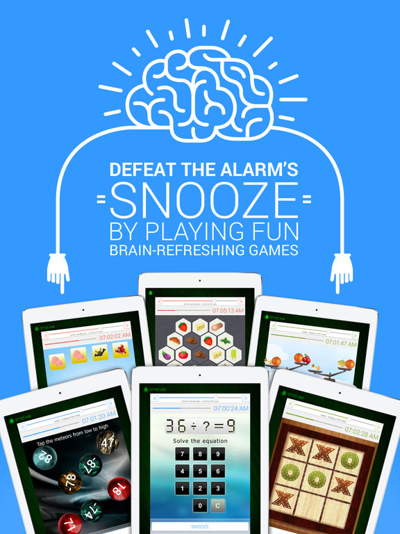 Smile Alarm ~ 10 Games to beat the morning snooze! Screenshots