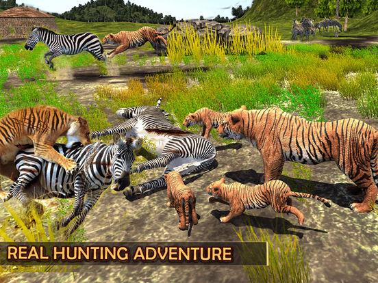 Жизнь дикий тигр - Джунгли история выживания на iPad