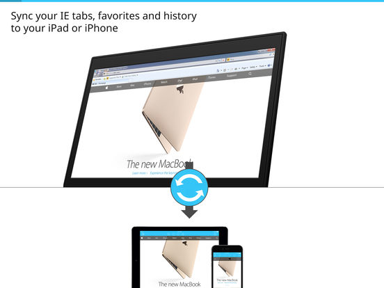 Sync for ie microsoft internet explorer tabs favorites and history