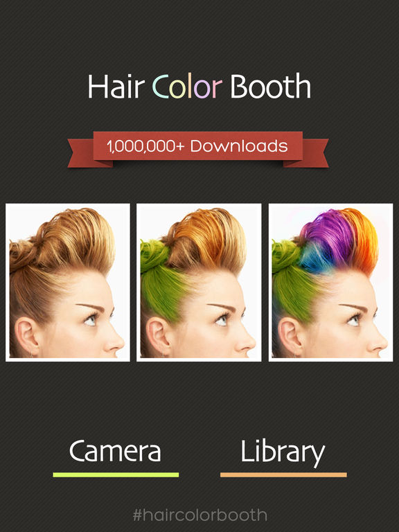 Hair Color Booth Free screenshot 6