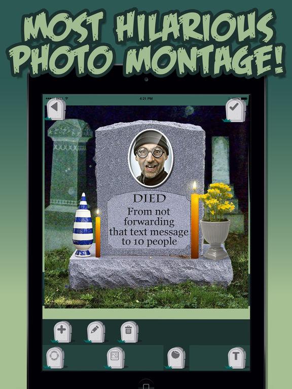 app shopper  gravestone generator