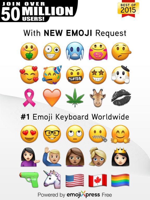 Screenshots of Emoji> for iPad