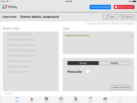 REM4ed Mobile Command HD iPad Screenshot 1
