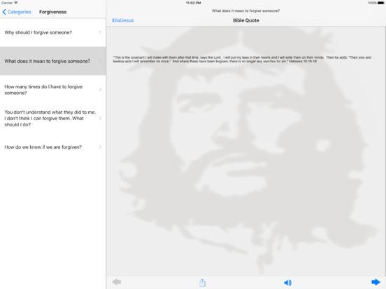 iDialJesus iPad Screenshot 1