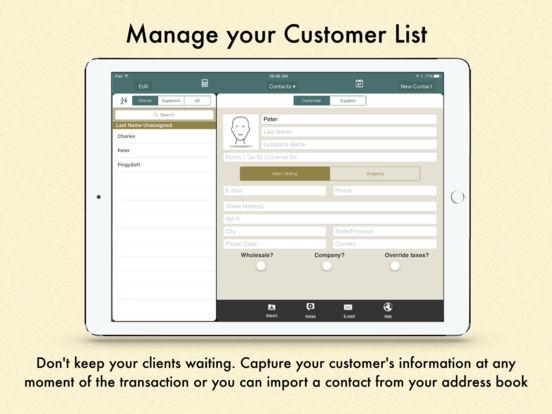 Ring It Up HD: Invoicing POS iPad Screenshot 4
