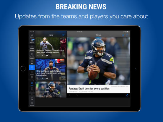 theScore – Sports Scores & News screenshot