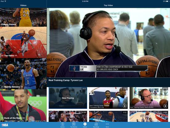 NBA Game Time 2010-2011 iPad Screenshot 3