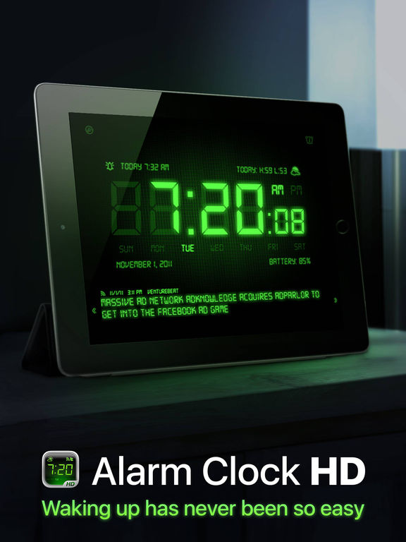 Alarm Clock HD Screenshots