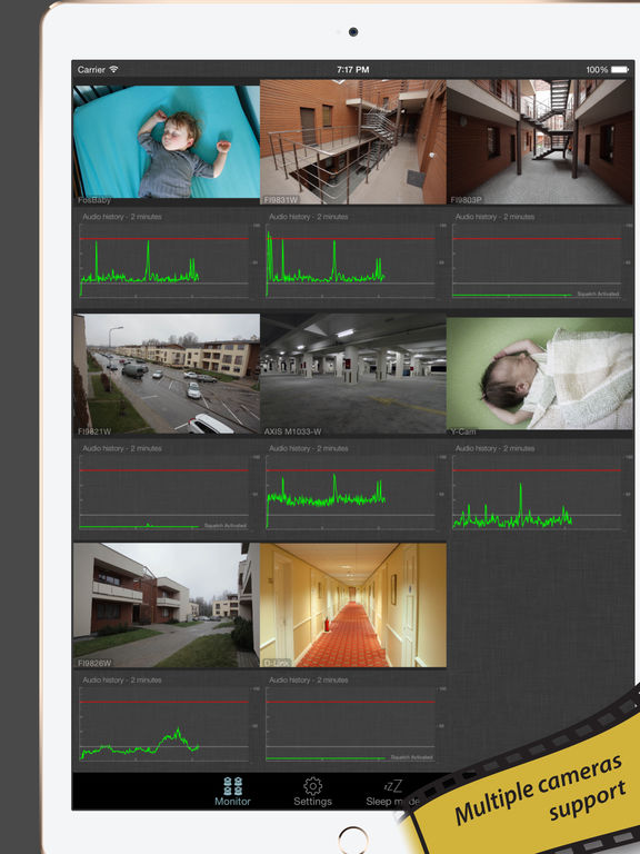 baby monitor for ip camera amcrest foscam etc on the app store. Black Bedroom Furniture Sets. Home Design Ideas