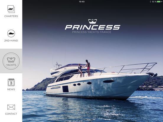 Princess Yachts iPad Screenshot 1