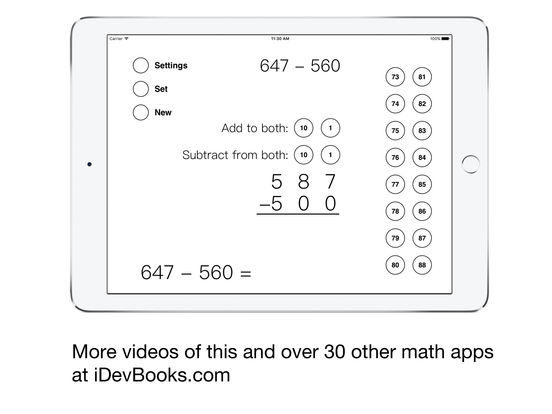 Same-Change Subtraction iPad Screenshot 5