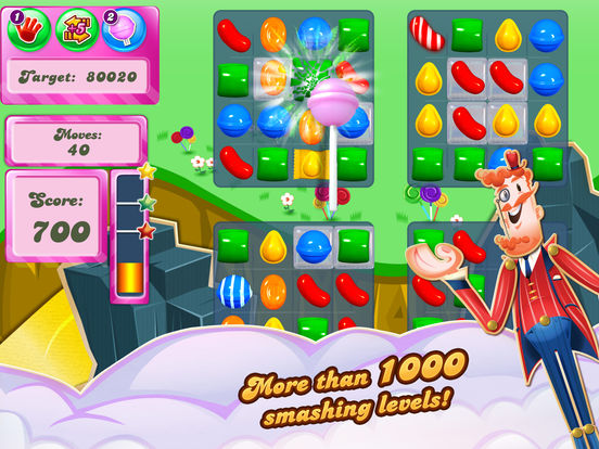Screenshots of Candy Crush Saga for iPad