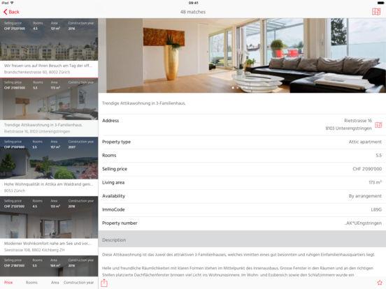 newhome.ch iPad Screenshot 3