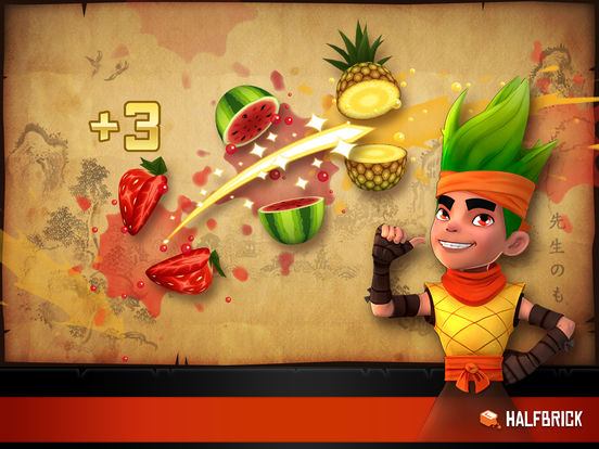 Fruit Ninja Free screenshot