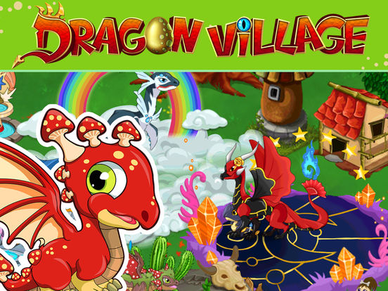 Dragon Village - Dragons Fighting City Builder games screenshot