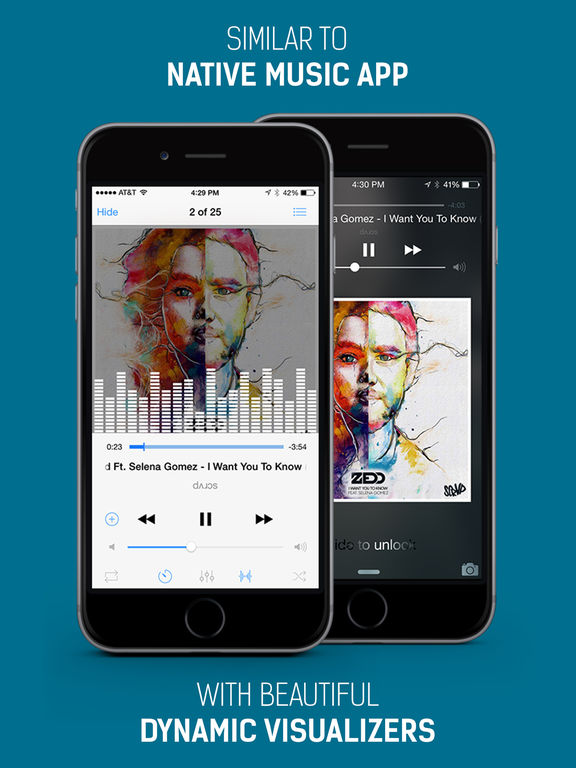 Screenshots of iMusic Free - Free Music Play & Mp3 Player for iPad