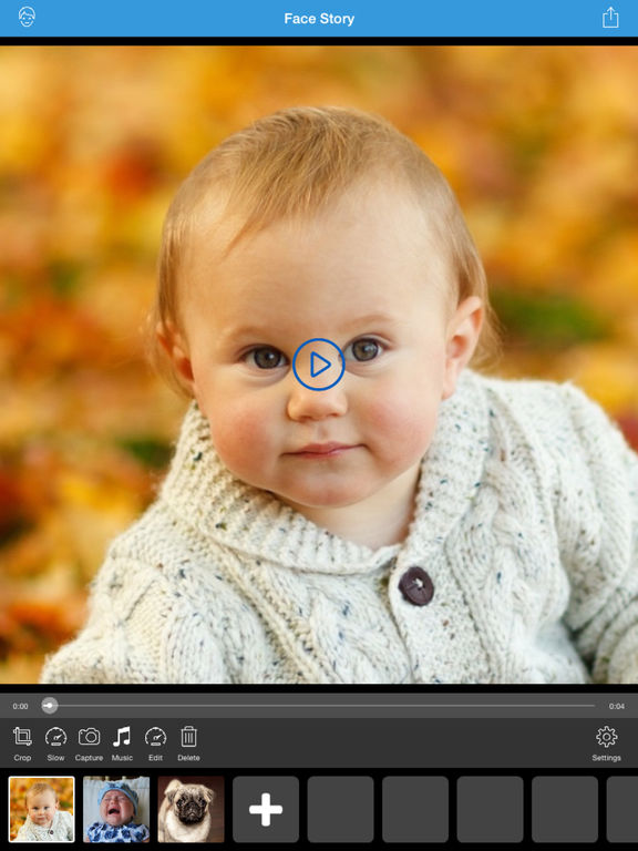 Face Story Pro - Change and morph face slideshow Screenshots
