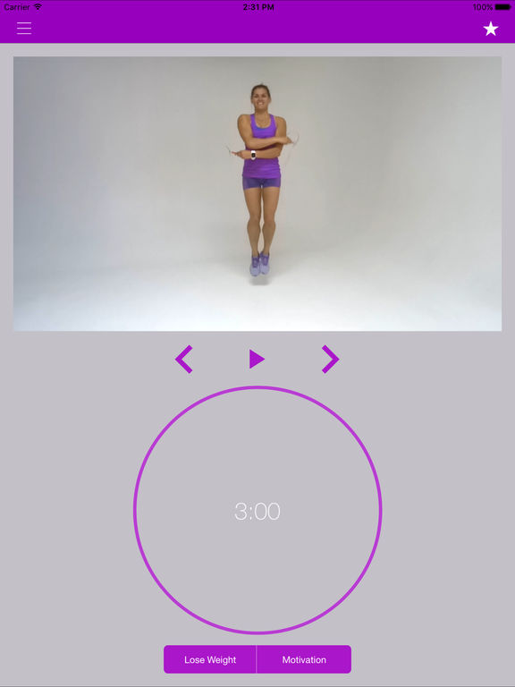 Jump Rope Workout and Jumping Exercises Routine Screenshots
